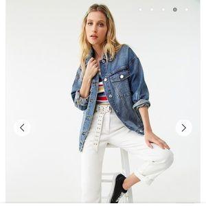 Forever21 Women's Denim Jean Jacket Size S
